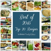 Best of 2015 {Top 20 Recipes}