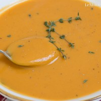 Sweet Potato & Butternut Squash Soup