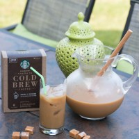 Easy Caramel Cold Brew Coffee