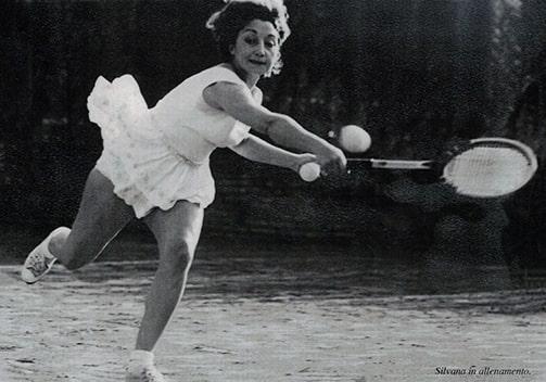 Silvana Lazzarino Tennis roma le molette