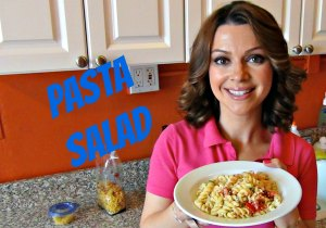 Cooking in Manhattan Pasta Salad