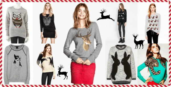 How to wear an holiday sweater