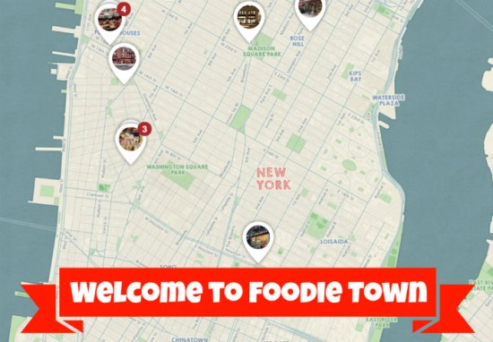 Welcome to NYC Foodie Town