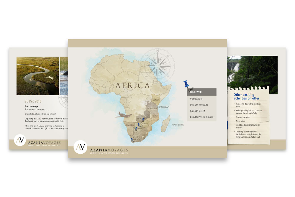 Azania Voyages Powerpoint