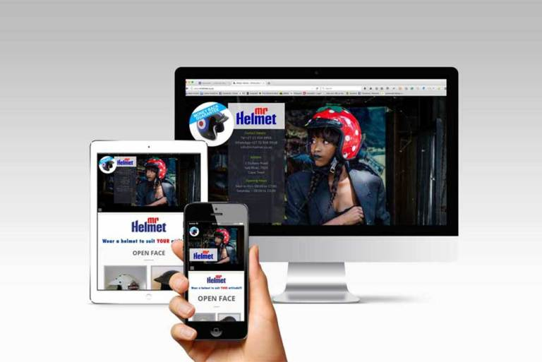 Mr Helmet website