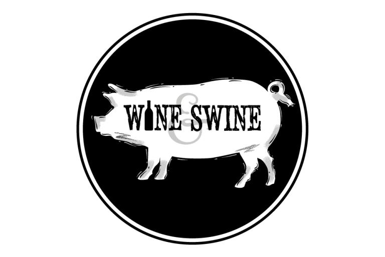 Wine and Swine logo