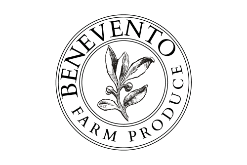 Benevento farm produce logo