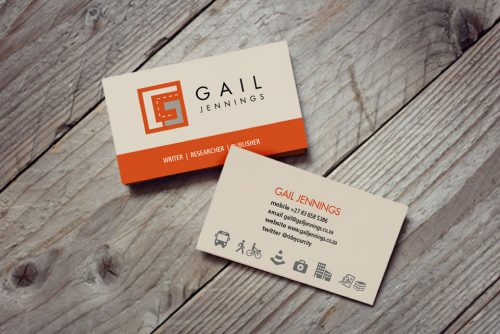 Gail Jennings business cards