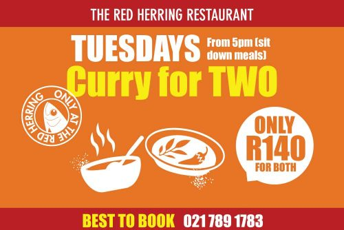 The Red Herring Tuesday winter specials