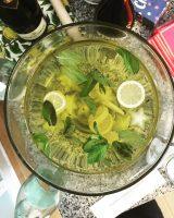 Starfruit Champagne Punch