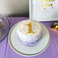 Lavender Gold Smash Cake
