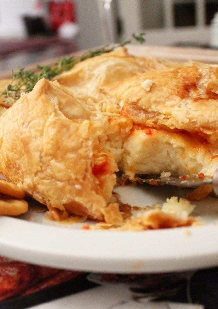 Brie en Croute / Baked Brie with Pepper Jelly