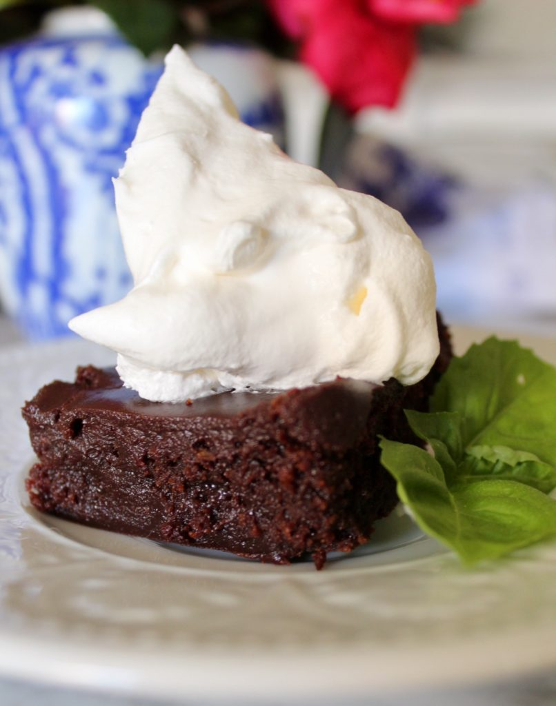 Brownies with Stout Beer