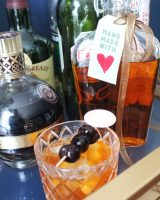 Earl Grey Bourbon and Old Fashioned
