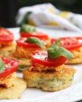 tomato okra corncake