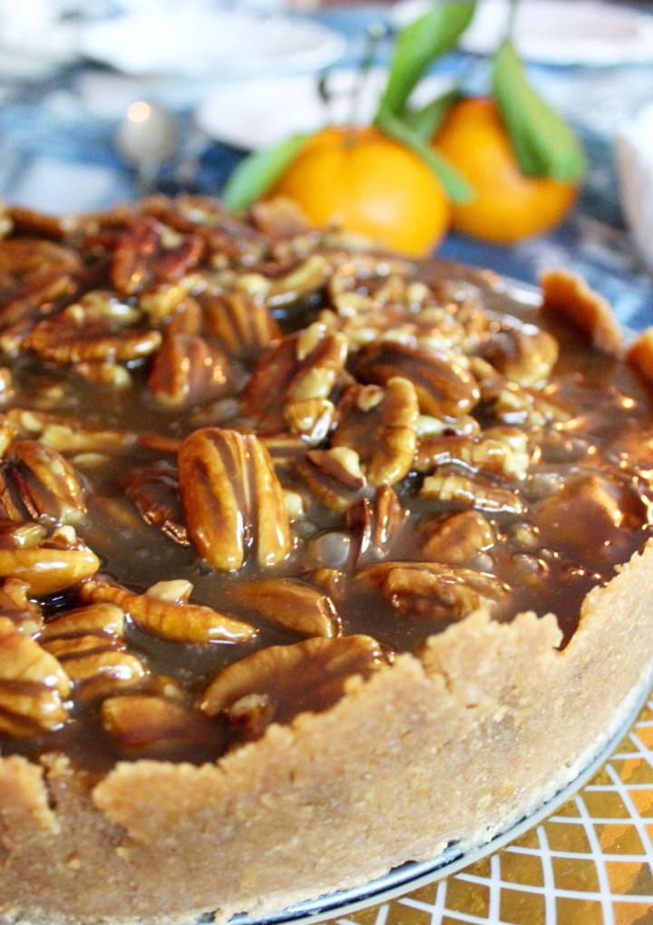 Pecan Pie Cheesecake for the Holidays