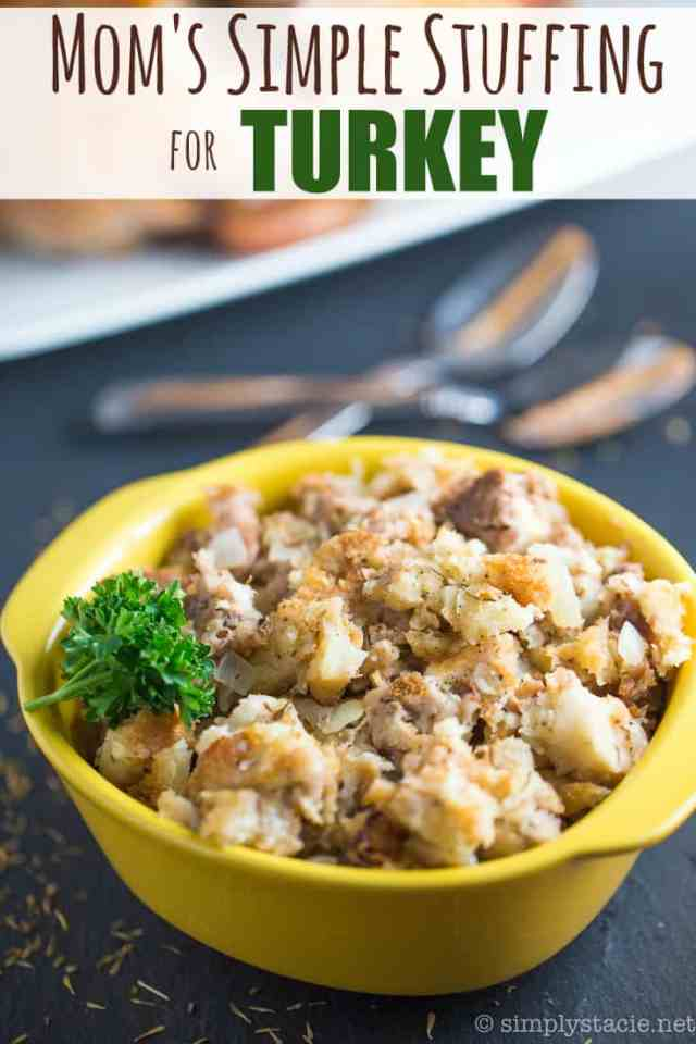 simple stuffing for turkey
