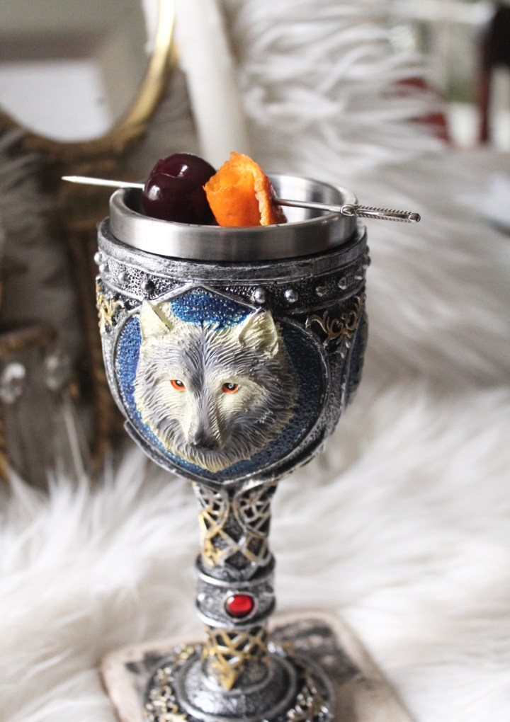 The Witcher Cocktail: The White Wolf
