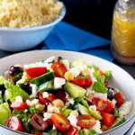 The Ultimate Greek Chopped Salad