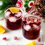 Cranberry Maple Bourbon Cocktail