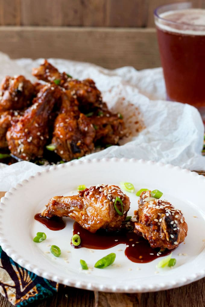 Oven Baked Sweet and Spicy Asian Chicken Wings are extra crispy ...