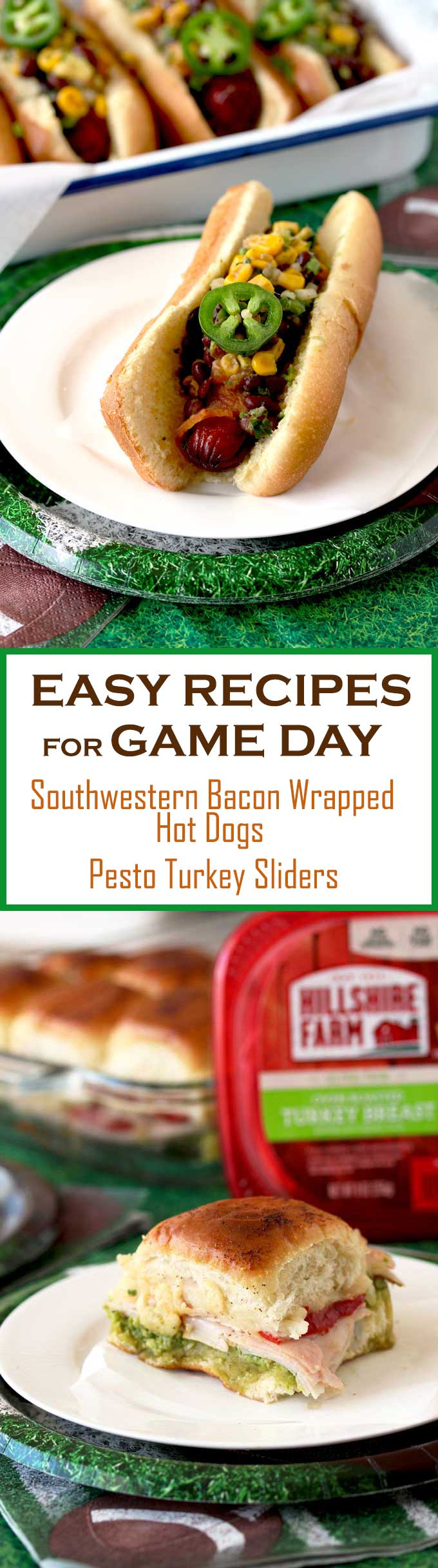 Game Day Foods are as important as the big game! Whether you are hosting a big party or just enjoying the game at home, these two easy and delicious recipes plus my tips for stress-free entertaining will turn any game day into a victory! #ad #Tysonwinninglineup #gameday #recipes #superbowl