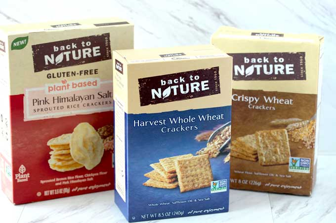 Assortment of Back To Nature Crackers