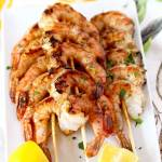 Cajun Grilled Shrimp Skewers