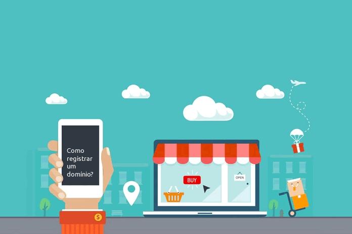 Como registrar um dominio passo-a-passo