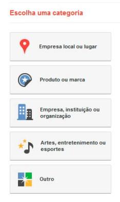Google+ Criando Perfil