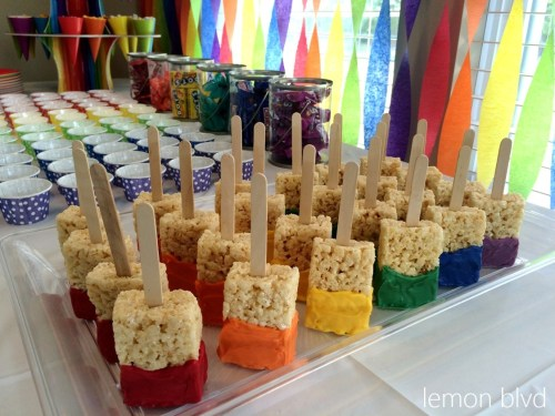 Art Party Paintbrushes