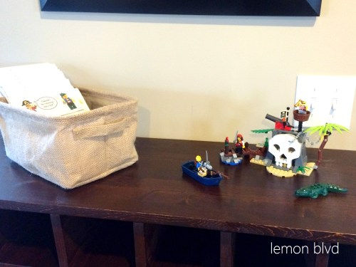 Lego Pirate Favor Table