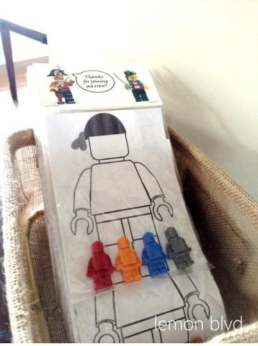 Lego Pirate Favors