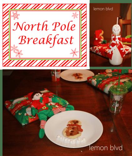 North Pole Breakfast - lemon blvd