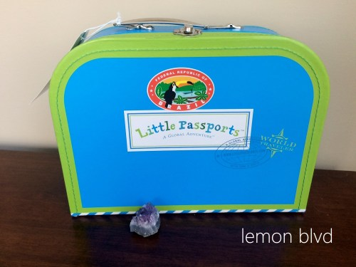 Little Passports Review - Amethyst and Suitcase - lemon blvd