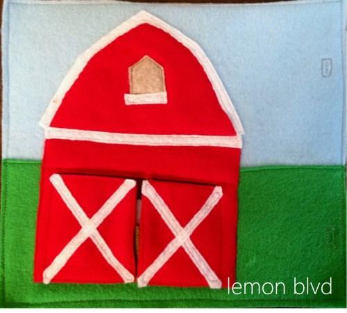 Quiet Book - Barn - lemon blvd