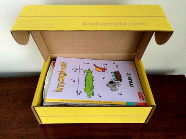 Koala Crate Review - music box - lemon blvd