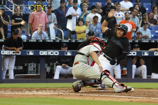 Marlins demolition Philadelphia Phillies