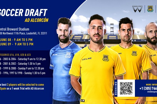 A.D. Alcorcón try out