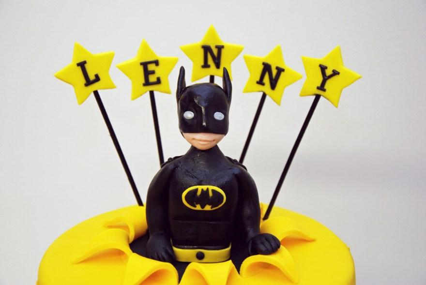 Premier Gâteau Anniversaire Enfant Batman Superheros Modelage