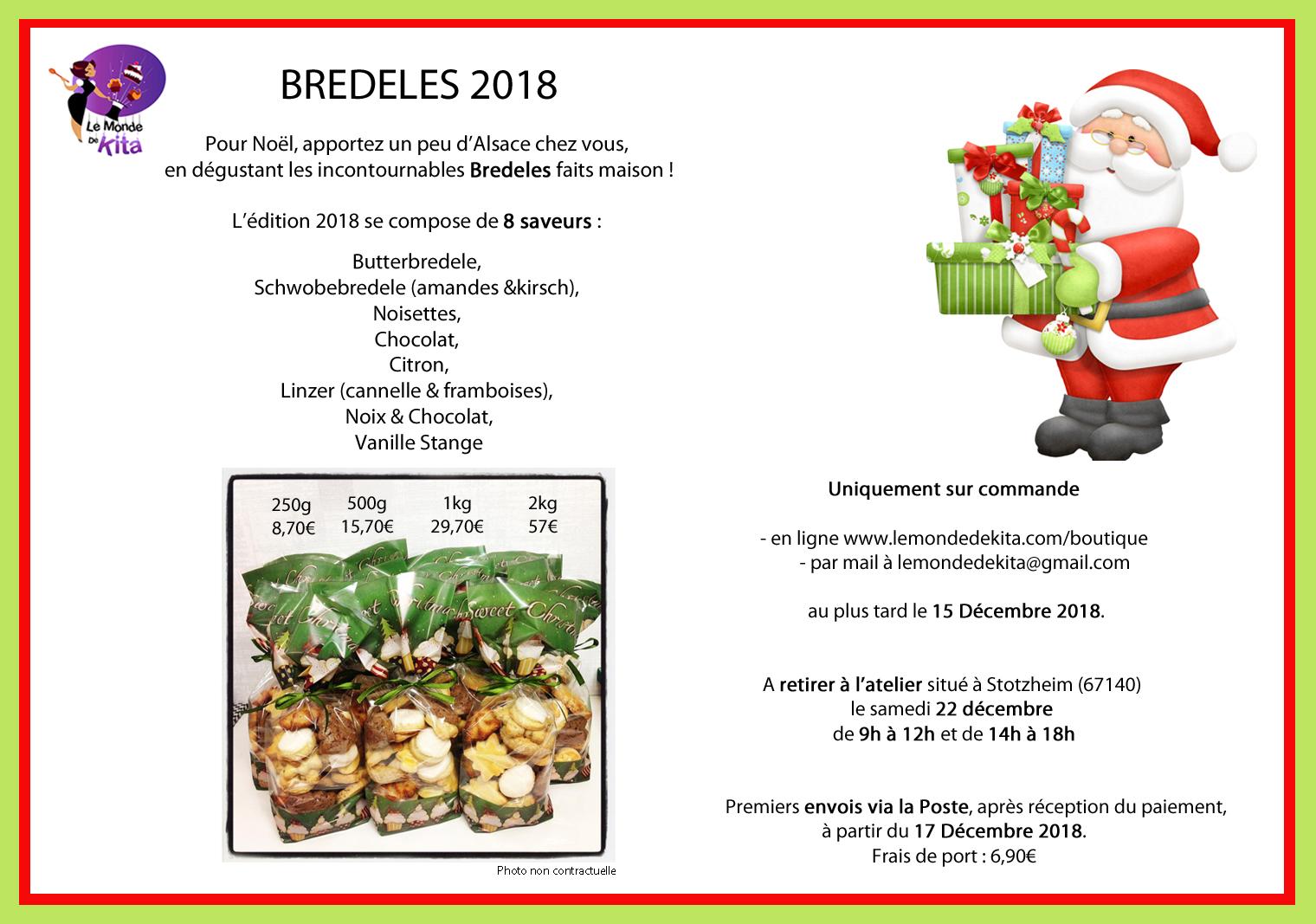 Bredele Noël 2018