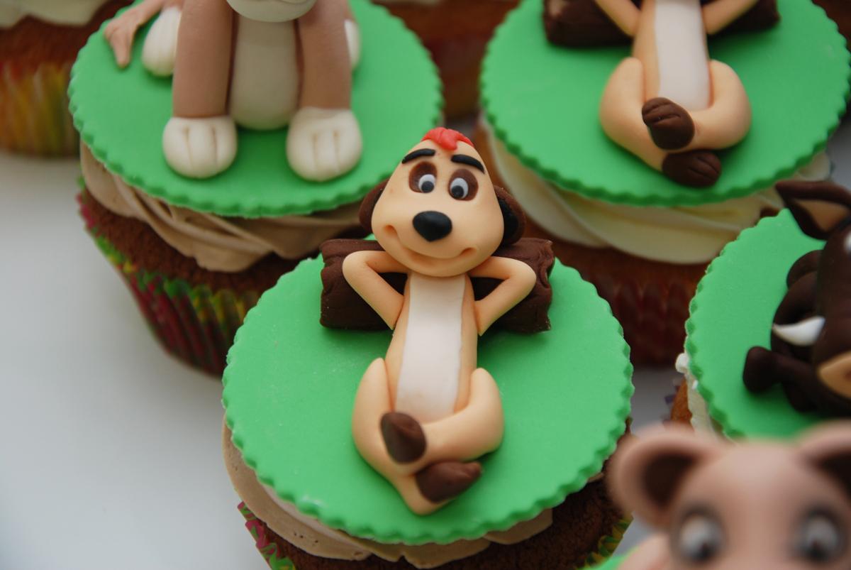 modelage cupcake timon