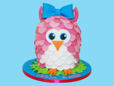 Gâteau Chouette
