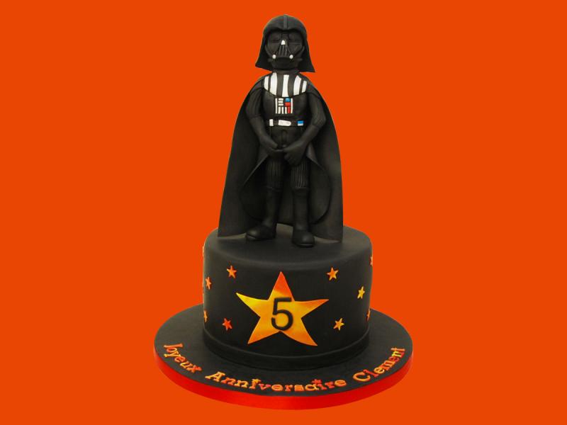 Gâteau design la guerre des étoiles