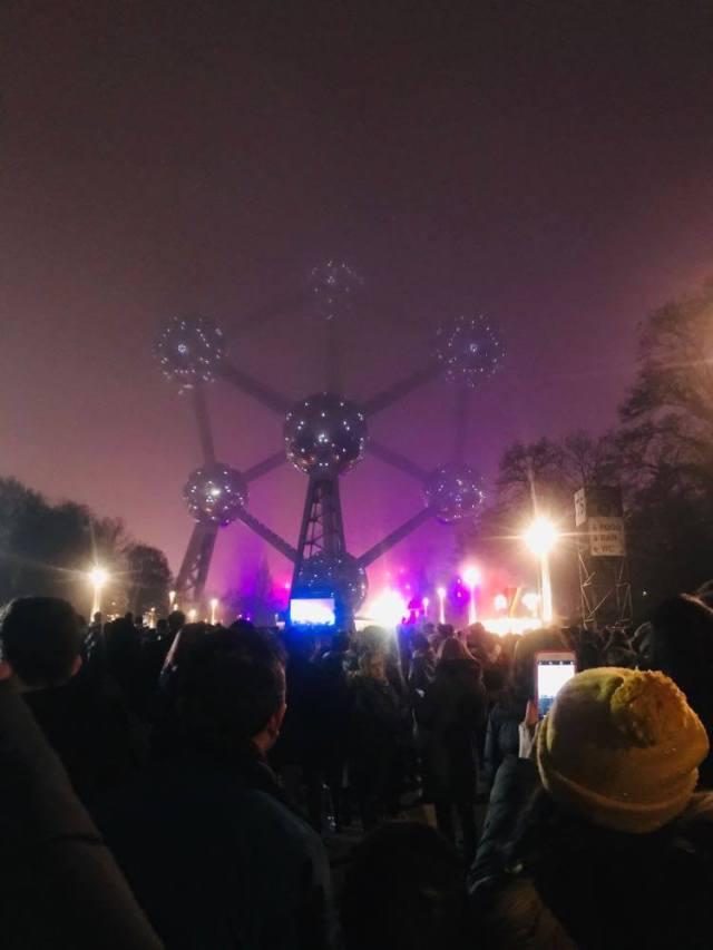 Atomium Nouvel an