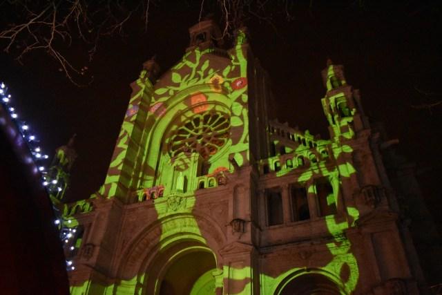 Jeux de lumiére sur l'église