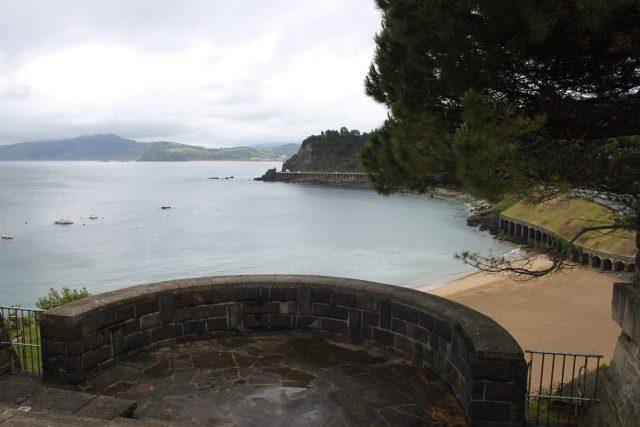 Une des vue depuis le haut de Getaria- pays basque espagnol