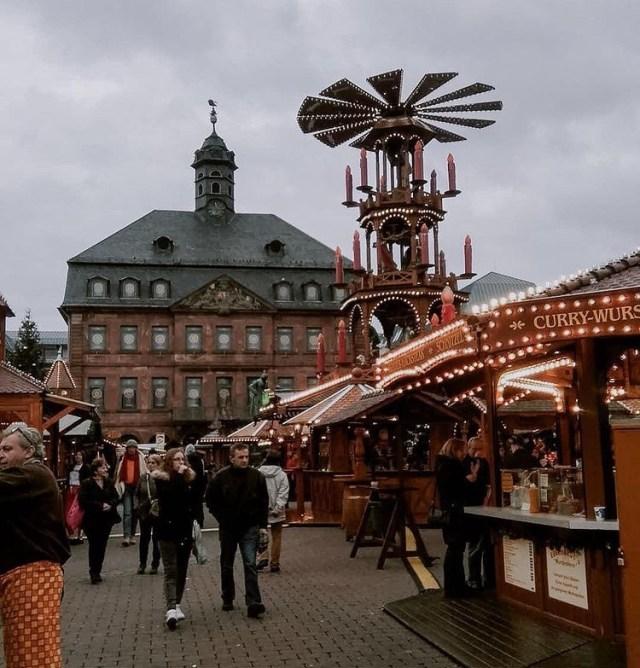 Les fêtes de Noël en Allemagne, marchée de Hanau
