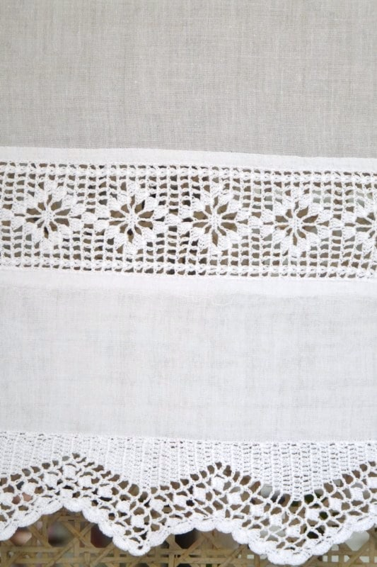 brise bise blanc brode tradition crochet