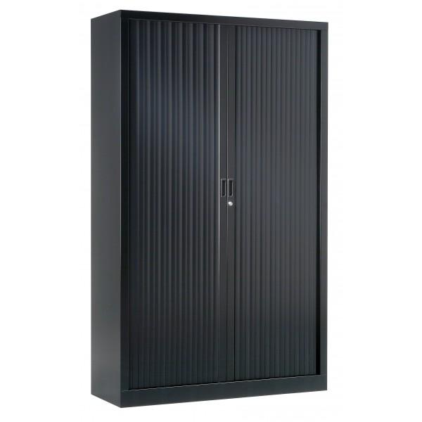 armoire haute a rideaux gc uni
